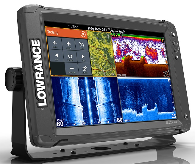 Lowrance Elite-12 Ti with TotalScan Transducer amp C-Map Chart - VERY  LIMITED