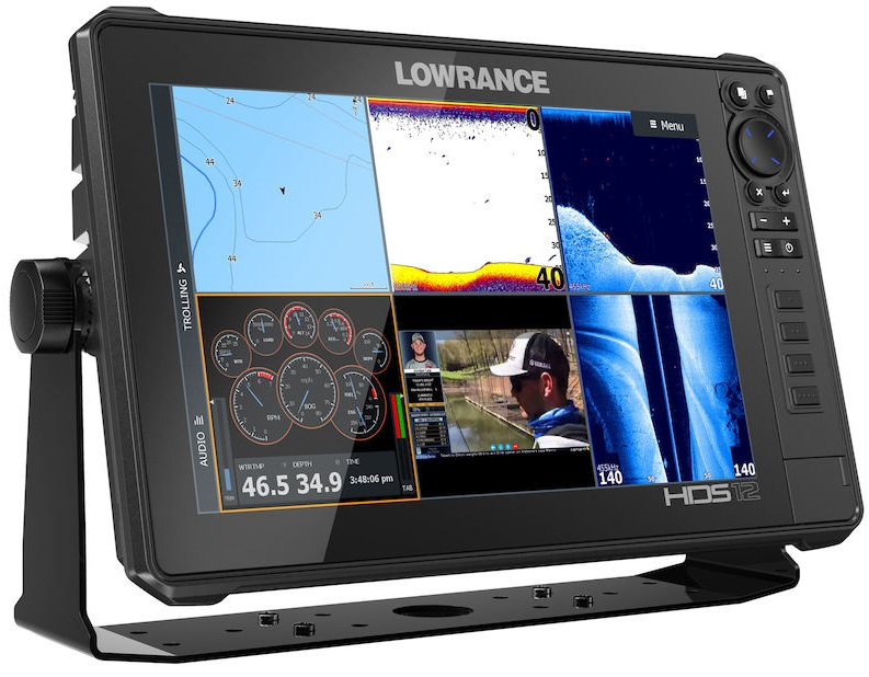 Lowrance HDS-12 Live with Active Imaging 3-1 Transducer